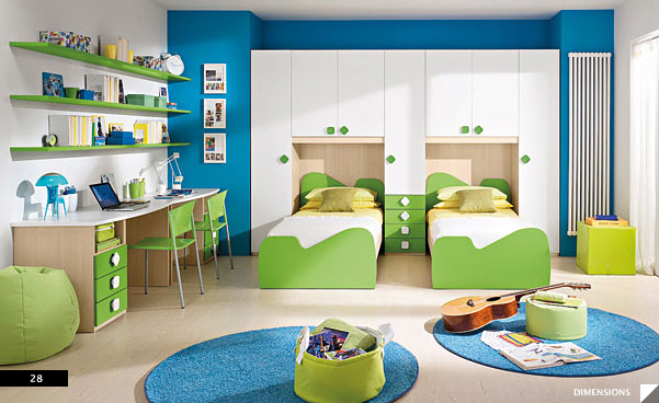 Children's bedroom decoration ideas